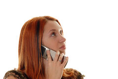 Distracted caller Royalty Free Stock Photography