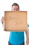 distraught job man mature needs Στοκ φωτογραφία με δικαίωμα ελεύθερης χρήσης