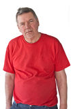 Distraught Mature Man Stock Photography