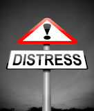 Distress concept. Royalty Free Stock Photography