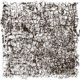 Distress, dirt texture. Vector illustration. Grunge background. Pattern with cracks. Distress, dirt texture . Vector illustration to create distressed effect Royalty Free Stock Image