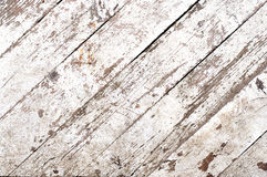Distress White Planks Royalty Free Stock Images