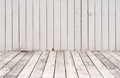 Distress White Planks Royalty Free Stock Photos