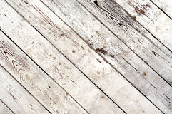 Distress White Planks Royalty Free Stock Image