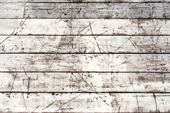 Distress White Planks Stock Images
