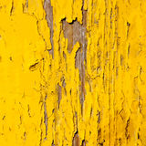 Distress Yellow Paint Royalty Free Stock Image