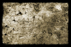 Distressed background. With a black border Stock Images