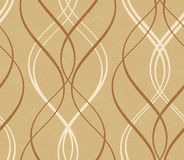 Distressed background with abstract seamless geometric wavy patt Royalty Free Stock Image