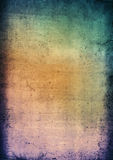 Distressed background of muted colours Royalty Free Stock Photo