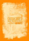 Distressed Background texture. Layered vector illustration Royalty Free Stock Photo