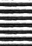 Distressed black and white stripe. Vector illustration of distressed black and white stripes in a repeat pattern Royalty Free Stock Images