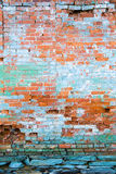 Distressed brick wall. Aging distressed brick wall Royalty Free Stock Photos