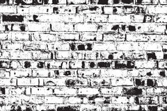 Distressed Brick Wall Royalty Free Stock Image