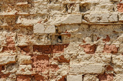 Distressed Brick Wall for your Copy Royalty Free Stock Photos