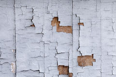 Distressed Building Wall Stock Image