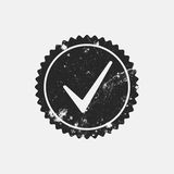 Distressed Checkmark Stamp Royalty Free Stock Photography