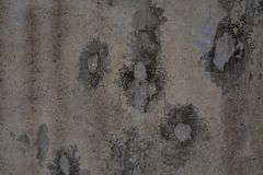 Distressed gray concrete wall royalty free stock photo
