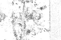 Distressed halftone grunge black and white vector texture  Stock Photos