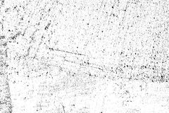 Distressed halftone grunge black and white vector texture   Royalty Free Stock Photography