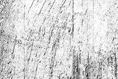 Distressed halftone grunge black and white vector texture -texture of old wall background for creation abstract vintage Royalty Free Stock Photos