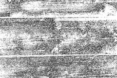 Distressed halftone grunge vector texture - old wood scratch background. Black and white vector illustration for dust Stock Photography