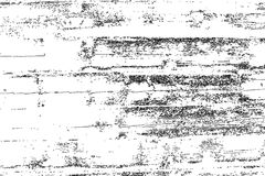 Distressed halftone grunge vector texture - old wood scratch background. Black and white vector illustration for dust overlay, creation abstract vintage effect Stock Photo