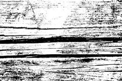 Distressed halftone grunge vector texture - old wood scratch background. Black and white vector illustration for dust. Overlay, creation abstract vintage effect Royalty Free Stock Photos