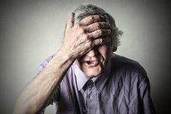 Distressed man Stock Photos