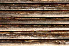 Distressed Old Barn Wood Clapboard Background Royalty Free Stock Photography