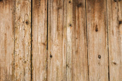 Distressed Old Wood Plank Boards Background. Distressed antique wood plank barn wood boards with old nails background royalty free stock photos