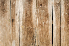 Distressed Old Wood Plank Boards Background. Distressed antique wood plank barn wood boards with old nails background stock photos