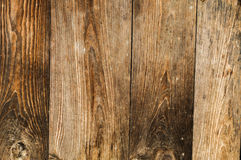 Distressed Old Wood Plank Boards Background. Distressed antique wood plank barn wood boards with old nails background stock images