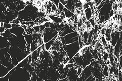 Distressed overlay texture of cracked concrete Royalty Free Stock Image