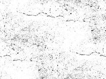 Distressed overlay texture of cracked concrete Royalty Free Stock Photography
