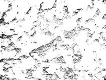 Distressed overlay texture of cracked concrete Royalty Free Stock Photo