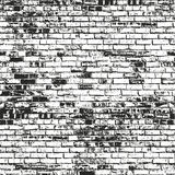 Distressed overlay texture of old brickwork Stock Photography