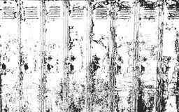 Distressed overlay texture of rusted peeled metal Stock Images