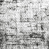 Distressed overlay texture of weaving fabric Royalty Free Stock Image