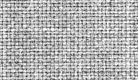 Distressed overlay texture of weaving fabric Royalty Free Stock Photography