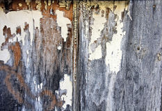 Distressed Painted Wood Background Stock Photo