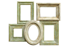 Distressed Picture Frames stock photography
