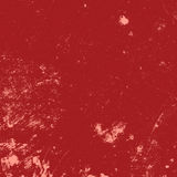 Distressed Red Paint Stock Photo