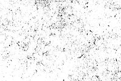 Distressed and rough concrete floor  texture. Subtle texture with grain and stains. Weathered asphalt surface. Black and white grit trace. Obsolete vintage Royalty Free Stock Photo