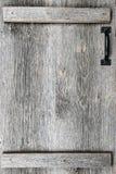 Old barn wood door stock image