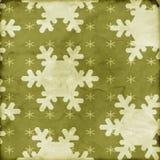 Distressed snowflake backgroun Royalty Free Stock Photo