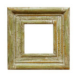 Distressed Square Picture Frame Stock Photography