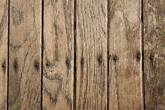 Distressed Vertical Wood Plank Boards Background Royalty Free Stock Photos