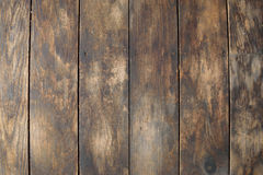 Distressed Vertical Wood Plank Floor Boards Background Royalty Free Stock Image