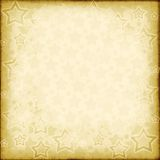Distressed vintage stars Royalty Free Stock Image