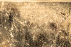 Distressed Wall. Photograph of a distressed wall. Suitable for grunge backgrounds Stock Photos